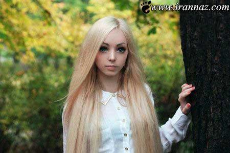 دختری که به عروسک باربی زیبایی تبدیل شد (عکس)