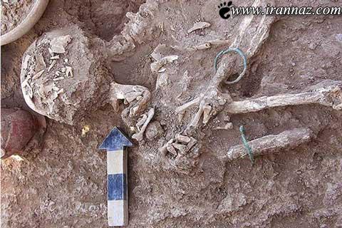 کشف یک جسد شگفت انگیز در زیر خاک (عکس)