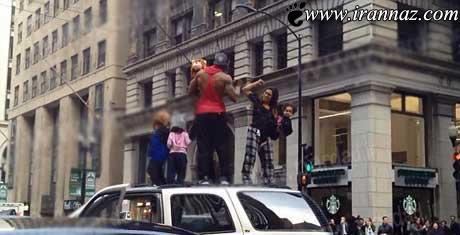 خانواده ی رقاصی که توسط پلیس دستگیر شد (عکس)