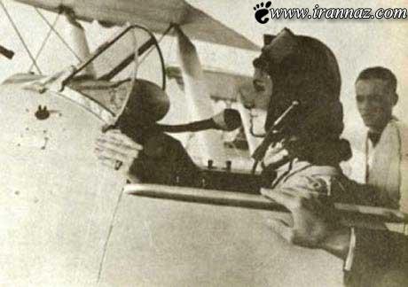 اولین زن خلبان ایرانی شجاعتش را ثابت کرد (عکس)