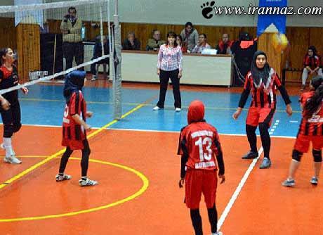 حجاب جالب زنان ورزشکار در ترکیه (عکس)
