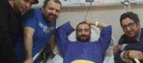 مرخص شدن مجید صالحی از بیمارستان (عکس)