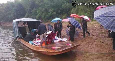 این عروس روز عروسیش در قایق غرق شد (عکس)