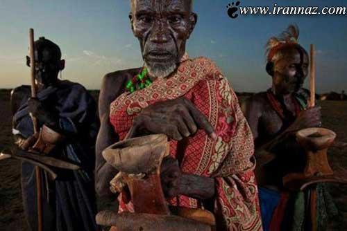 این قبیله ی عجیب و غریب را حتما ببینید (عکس)
