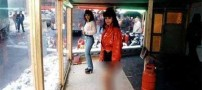 زنان فروشی در پشت ویترین های آزاد راه (عکس)