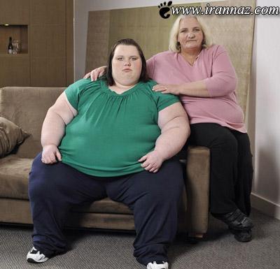 مانکن شدن دختر 19 ساله ی 160 کیلو گرمی (عکس)