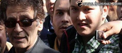 پسر ابوالفضل پور عرب با نوشته ی جنجالی اش (عکس)