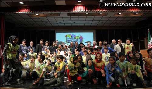 دست فروشی بازیگران مشهور ایرانی در خیابان (عکس)