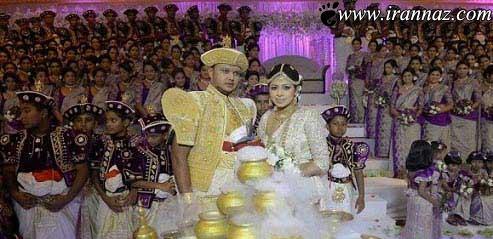 این عروسی جالب رکورد گینس را شکست (عکس)