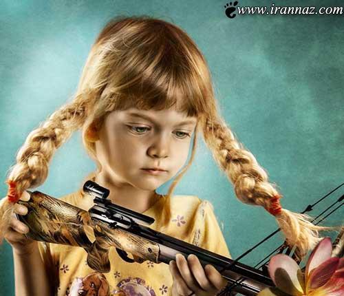 عکس هایی از کودکانی که زیباترین هستند