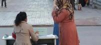 کار زشت این کشور برای کنار گذاشتن حجاب (عکس)