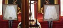 لباس زیر ملکه انگلستان به حراج گذاشته شد (عکس)