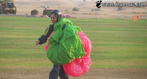 این دختر ایرانی دلیر ترین دختر دنیا است (عکس)