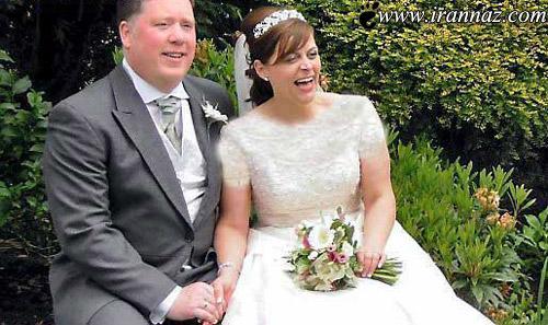 این عروس چاق بالاخره به آرزویش رسید (عکس)