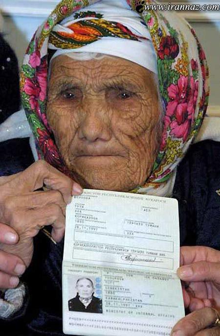 مسن ترین فرد دنیا را با چشمان خود ببینید (عکس)
