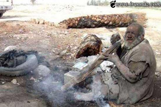 این مرد کثیف یک قرن است به حمام نرفته (عکس)
