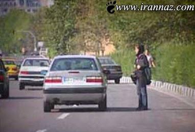 این خیابان پاتوق زنان بی شرم شده است (عکس)