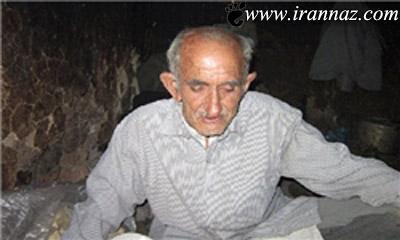 این مرد عجیب ایرانی در جنگل چکار میکند؟ (عکس)