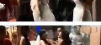 کار بی شرمانه داماد شب عروسی اش (عکس)