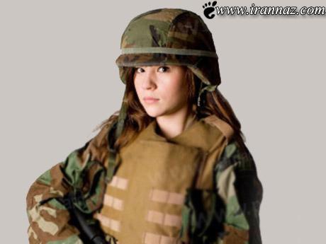 زایمان جالب این خانم در خط مقدم جنگ (عکس)