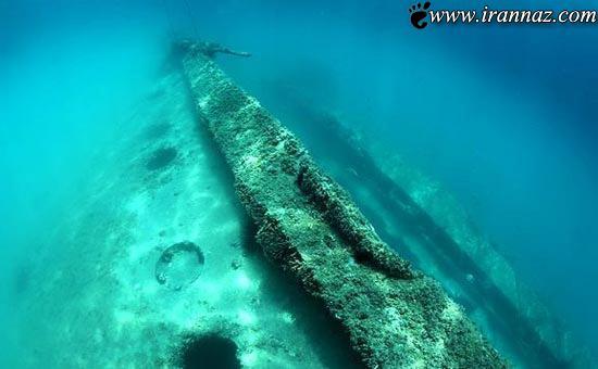 کشف تایتانیک ایرانی در اعماق دریا (عکس)