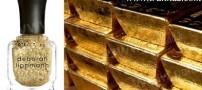 ساخت لاکی از جنس طلا (عکس)