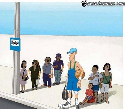 عکس هایی از کاریکاتورهای و جالب