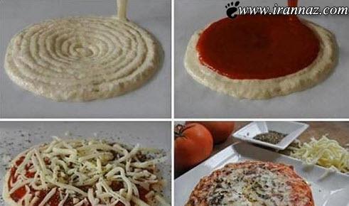 تولید پیتزا با چاپگر سه بعدی را مشاهده کنید (عکس)
