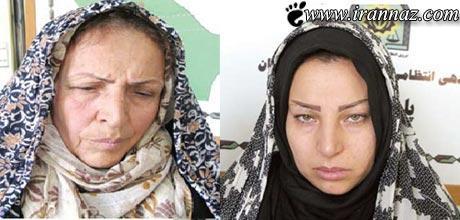 عروس و مادر شوهر دزد دستگیر شدند (عکس)