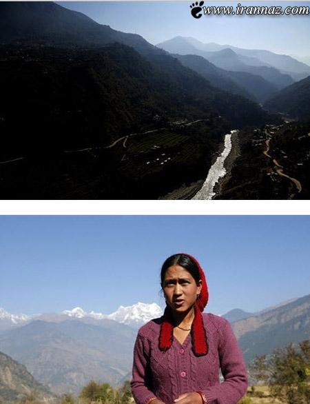 عکس هایی از دهکده ی غمگین زنان بیوه