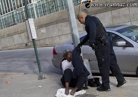 کار محترمانه این پلیس همه را متعجب کرد (عکس)