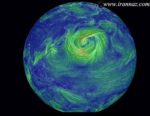بادهای سراسر زمین را با یک نگاه ببینید (عکس)