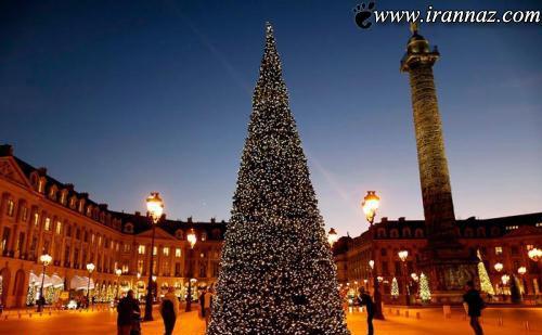 تا به حال کریسمس به این زیبایی دیده بودید؟ (عکس)