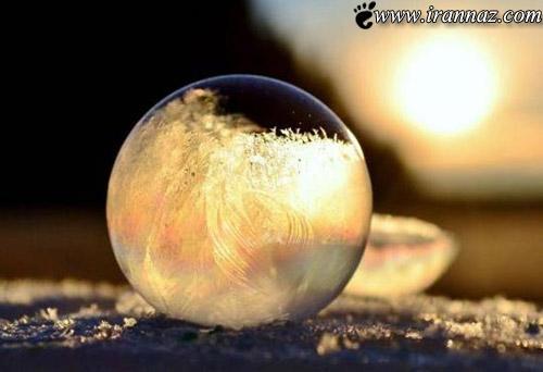 این حباب های یخ زده فوق العاده هستند (عکس)