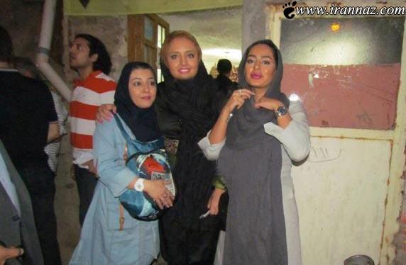 عکس جالب این 3 بازیگر زن ایرانی در کنار توالت عمومی