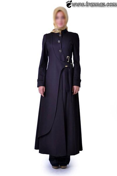 عکس هایی از مانتوهای بلند زنانه با دوختی جدید