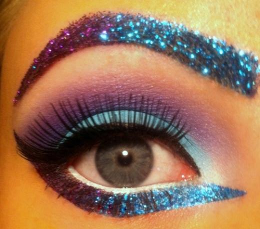 عکس هایی از آرایش چشم های حیرت آور