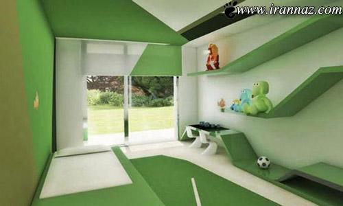 کسی تا به حال خانه ی رونالدو را دیده؟ (عکس)