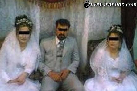 ازدواج دوم این مرد سوژه ی همگان شد (عکس)