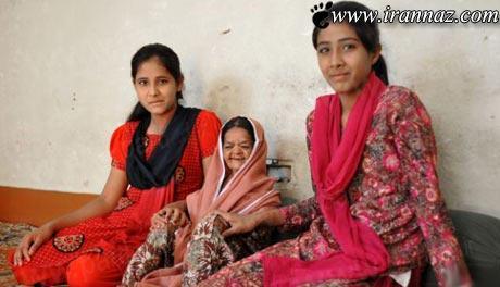 عکسهای بسیار جالب و دیدنی از کوتاه قدترین پیرزن دنیا