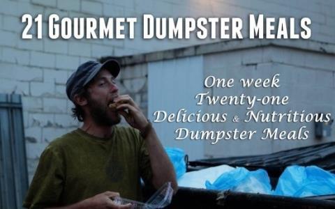 چرا این مرد از سطل آشغال ها تغذیه میکند؟ (عکس)