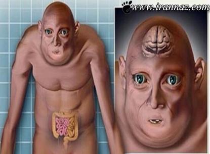 ظاهر عجیب و ترسناک انسان در سال 3000 میلادی!!