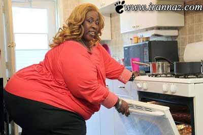 فکر میکنید اندام این خانم بیشتر شبیه چیه؟ (عکس)