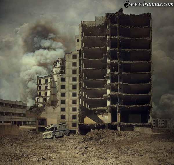 تصور کنید دنیا به آخر رسیده (عکس های خارق العاده)