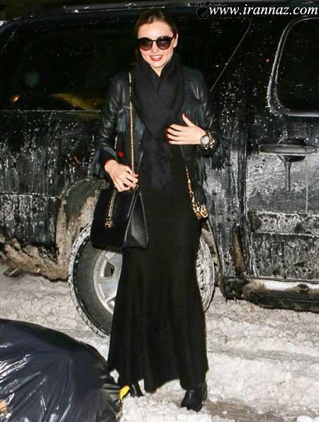 عکس هایی دیدنی از میرندا کر زیباترین مدل هالیوودی