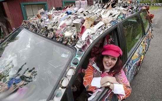 این خودروی بسیار جالب مخصوص خانم هاست (عکس)