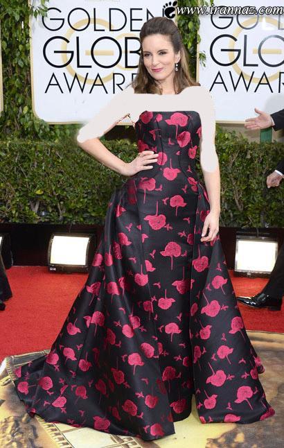گلچینی از لباسهای هنرمندان در گلدن گلوب 2014