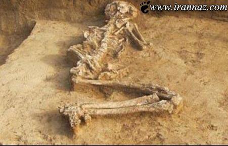کشف بقایای جسد 6000 ساله یک زن حامله (عکس)