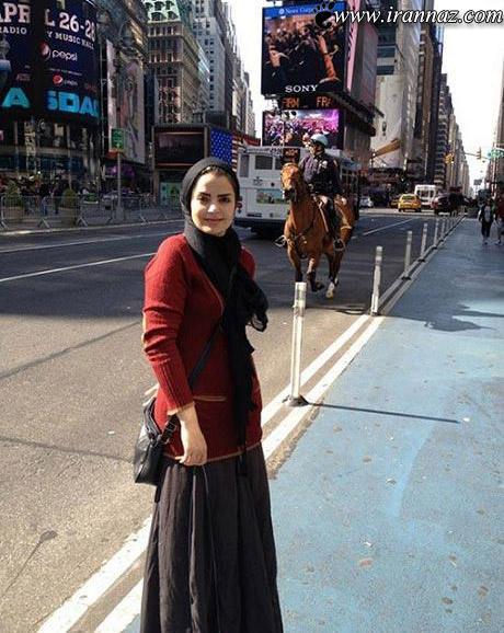 چهره زیبا و بدون جراحی این بازیگر زن معروف ایرانی