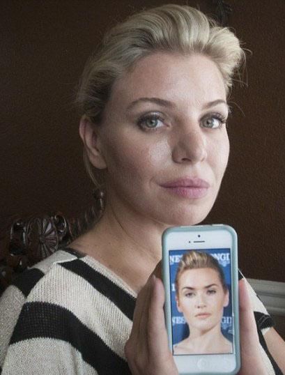این زن 45 میلیون خرج کرد تا شبیه کیت وینسلت شود